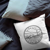 Kansas state throw pillow 100% cotton free ship