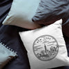 New York State Throw Pillow