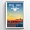 PEI Province Illustration Print