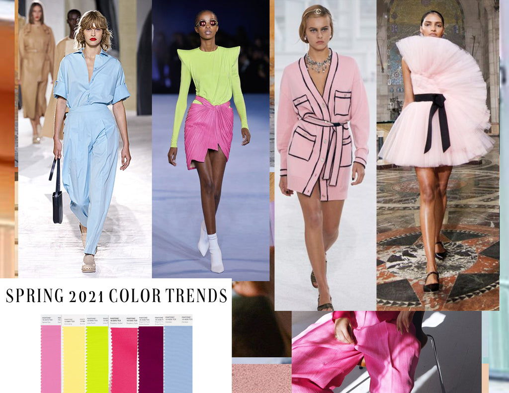 Spring 2021 Color Trends