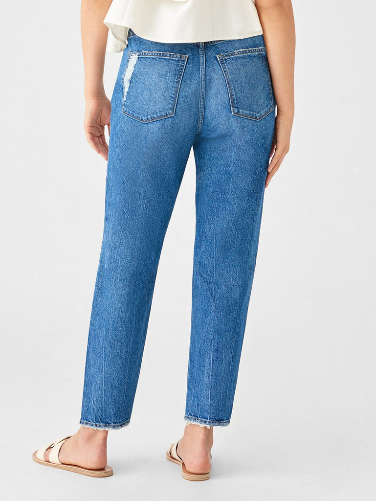 DL1961 Denim Susie High Rise Tapered Straight Jean