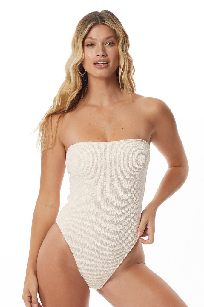 Tori Praver Kelly Rib One Piece