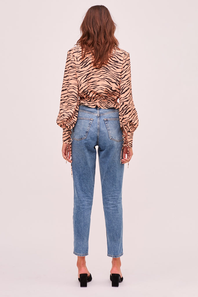 Finders Keepers Romy Tiger Top