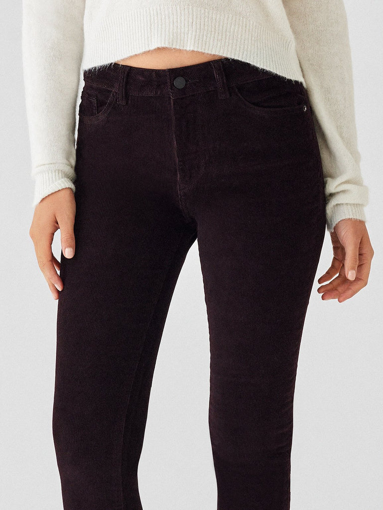 DL1961 Denim Farrow High Rise Corduroy Skinny