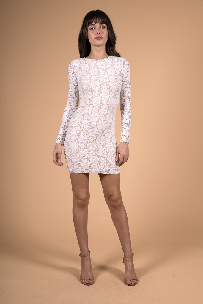 Nightcap Clothing Sweater Lace Dress