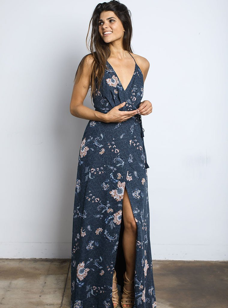 The Jetset Diaries Iman Floral Maxi Dress