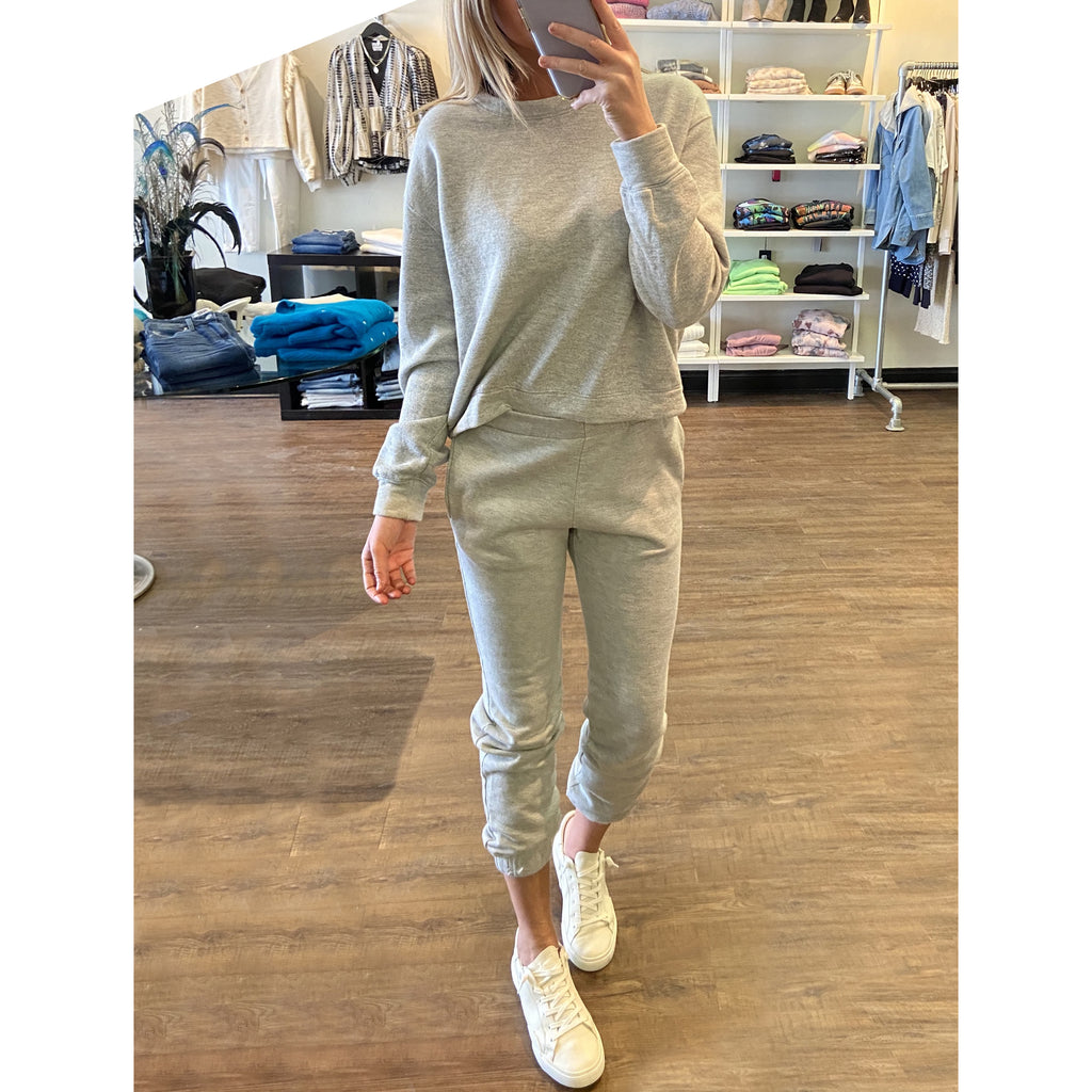 Project Social T Mercer Sweatpants in Heather Grey