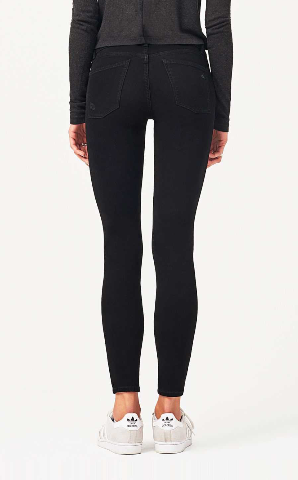 DL1961 Emma Mid-Rise Skinny in Deep Space