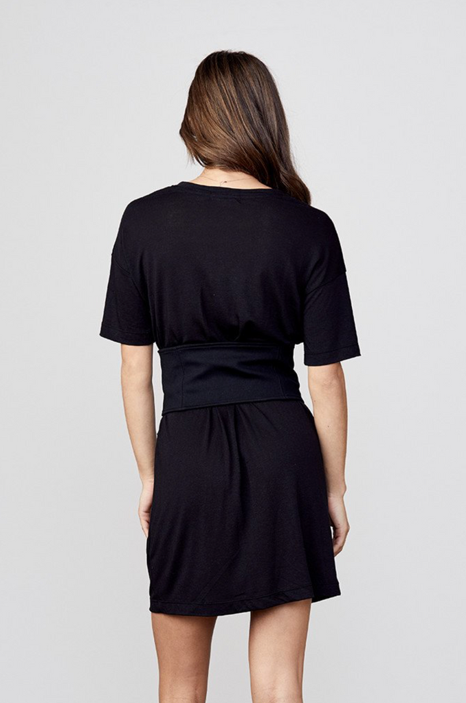David Lerner T-shirt Corset Belt Dress