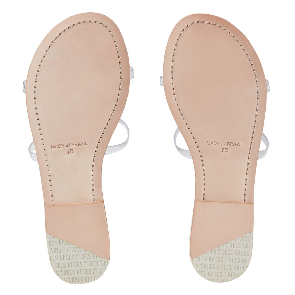 TKEES Gemma Clear White