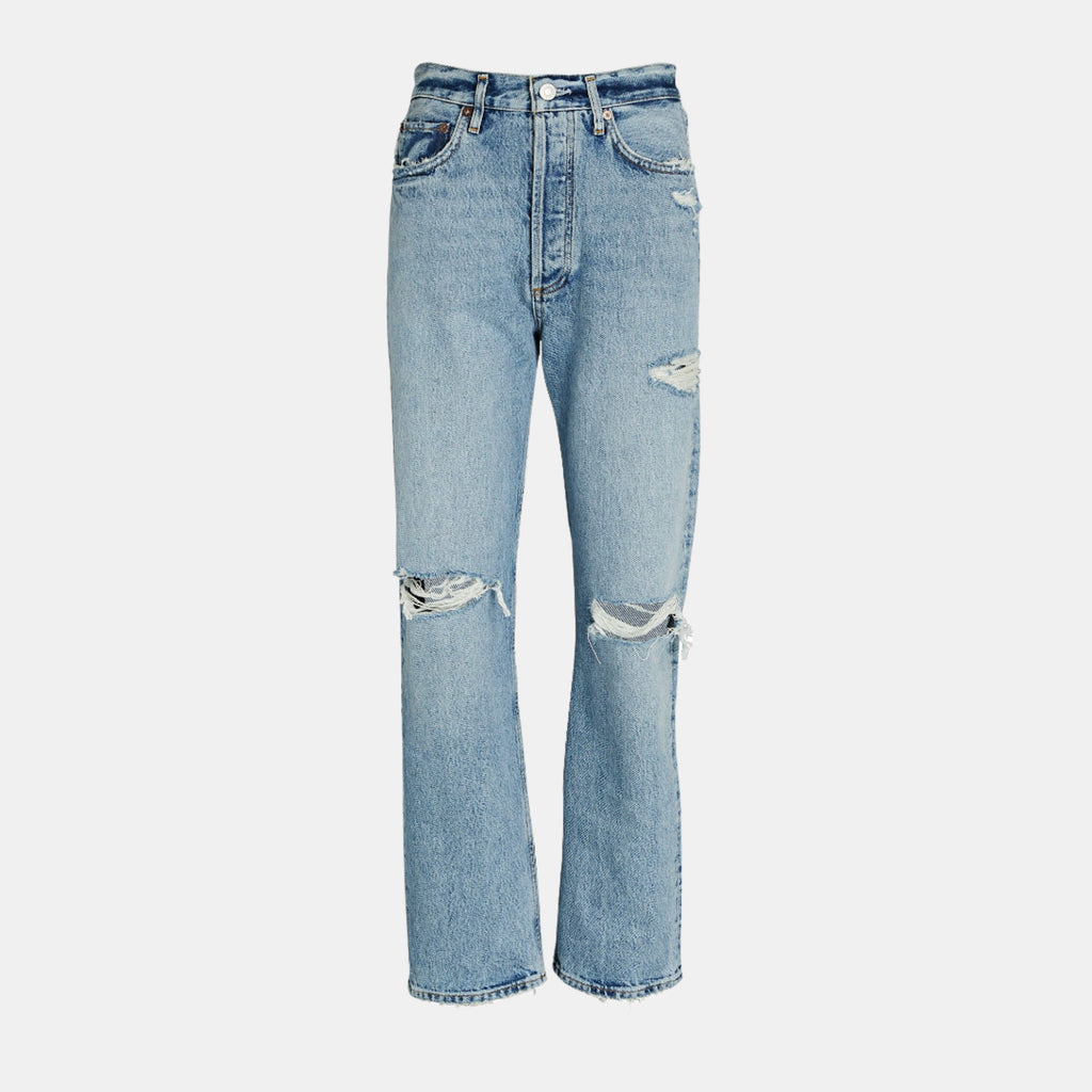 AGOLDE Denim Jamie High Rise Classic in Grade