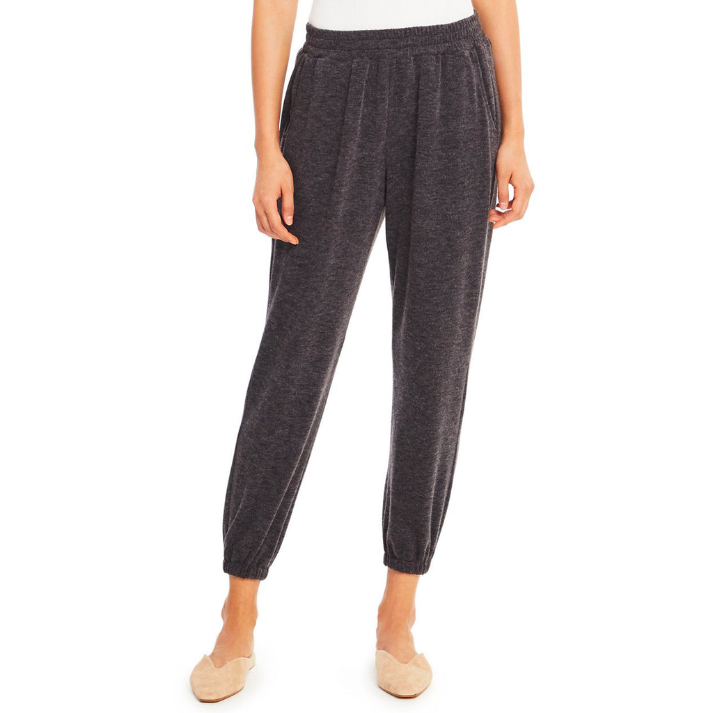 Amanda Uprichard Beacon Pants in Dark Heather Grey