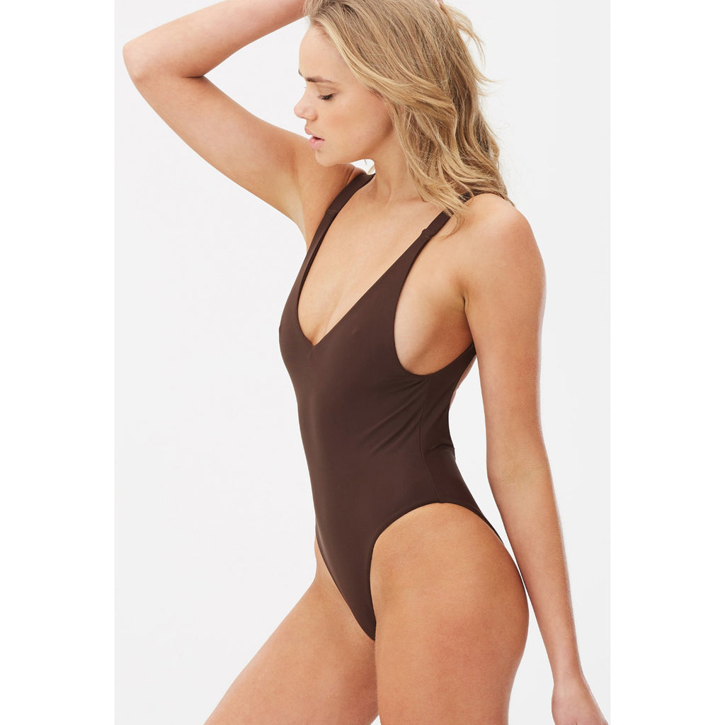 Charlie Holiday Sahara One Piece Bathing Suit
