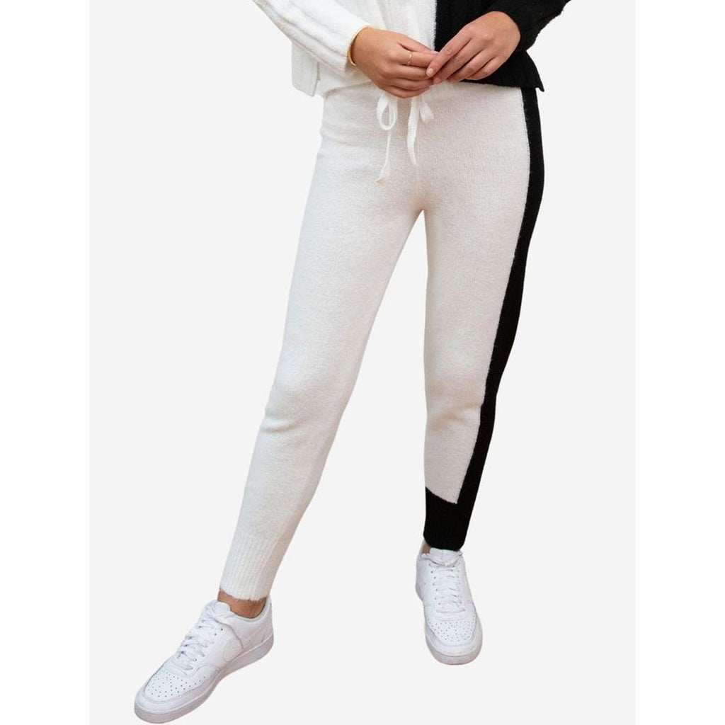 Central Park West Two Toned Acacia Knit Jogger