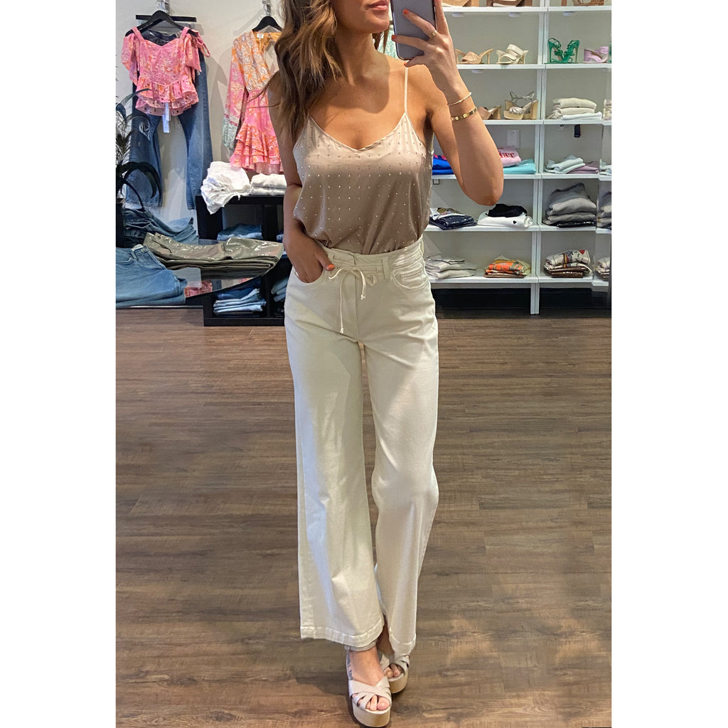 Generation Love Aurelie Silk Blouse in Aqua