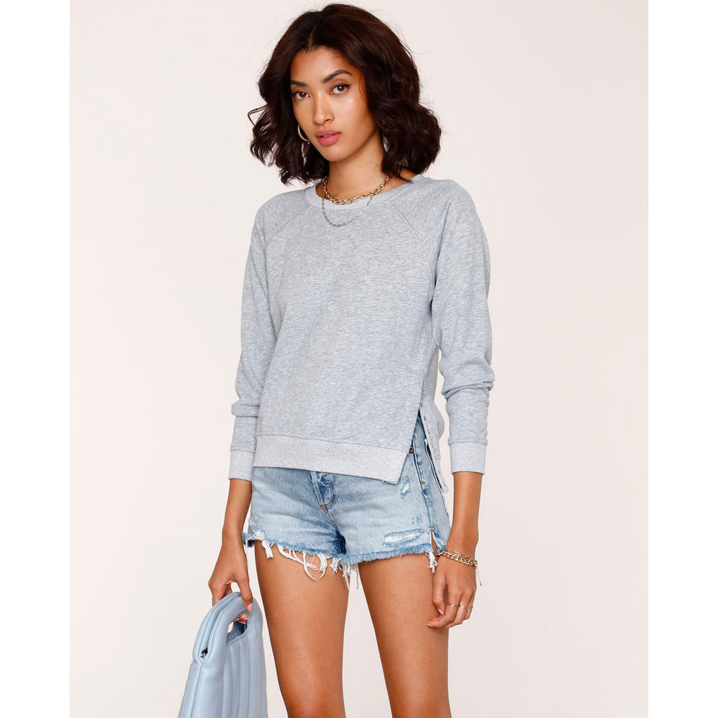 Heartloom Caron Sweatshirt in Heather Grey