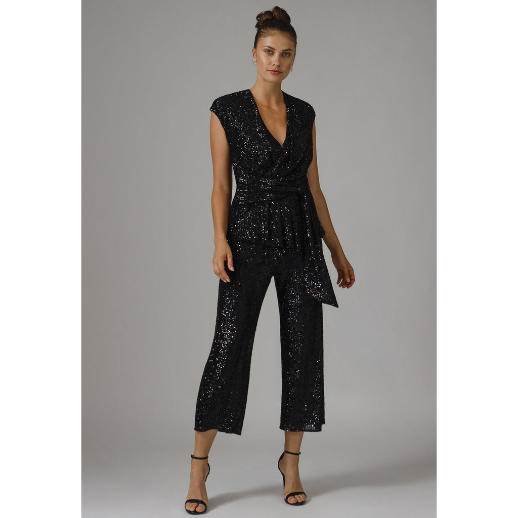 Jay Godfrey Susie Sequin Jumpsuit