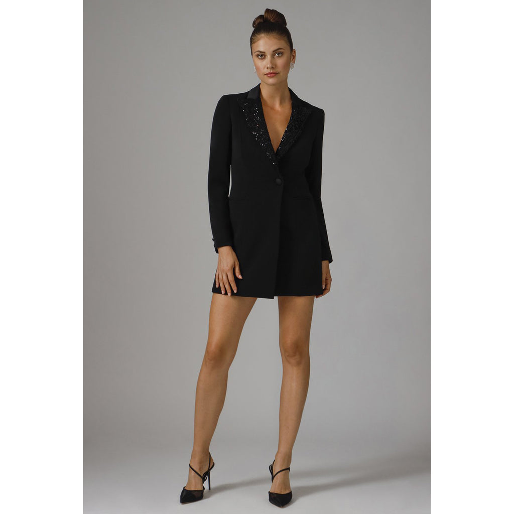 Jay Godfrey Ace Tuxedo Dress