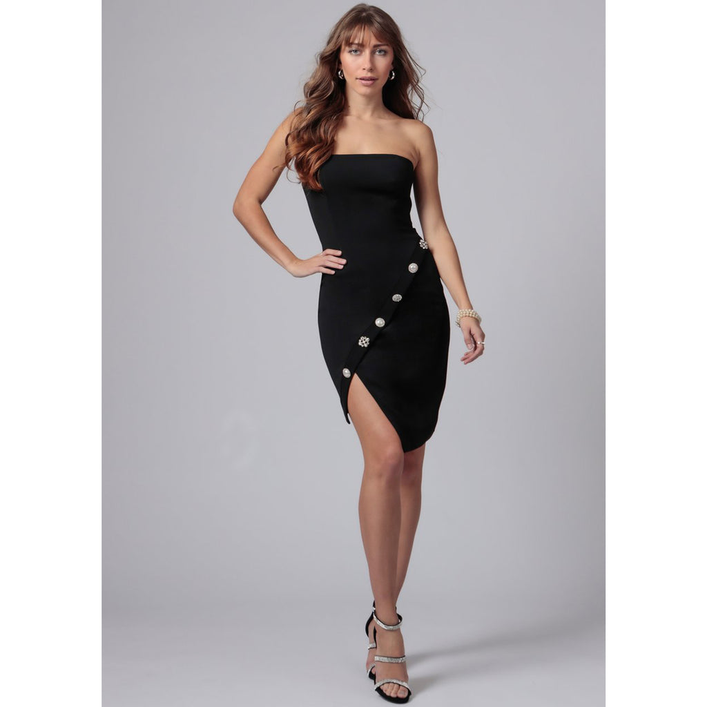 Jay Godfrey Warner Strapless Mini Dress