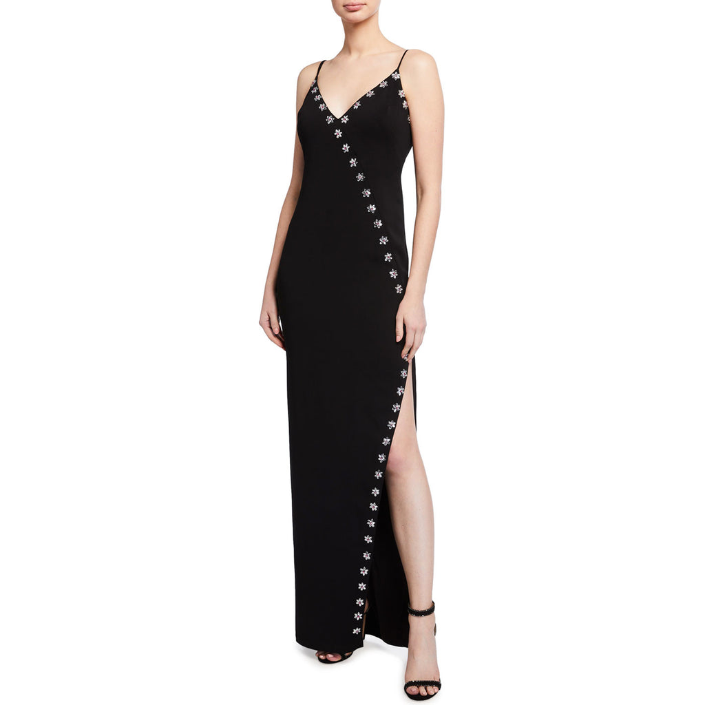 Jay Godfrey Elisa Sleeveless Stretch Crepe Gown