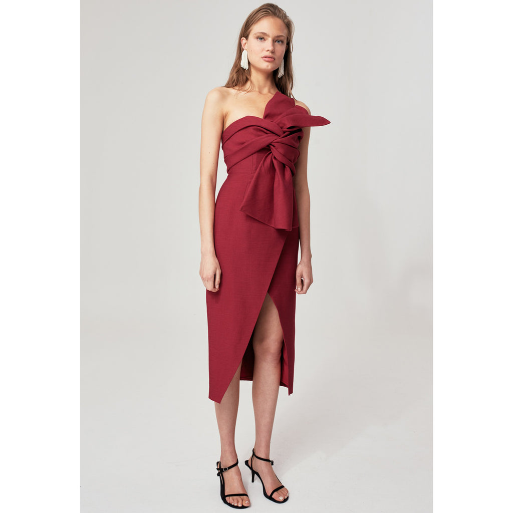 C/MEO Collective Each Other Midi Dress
