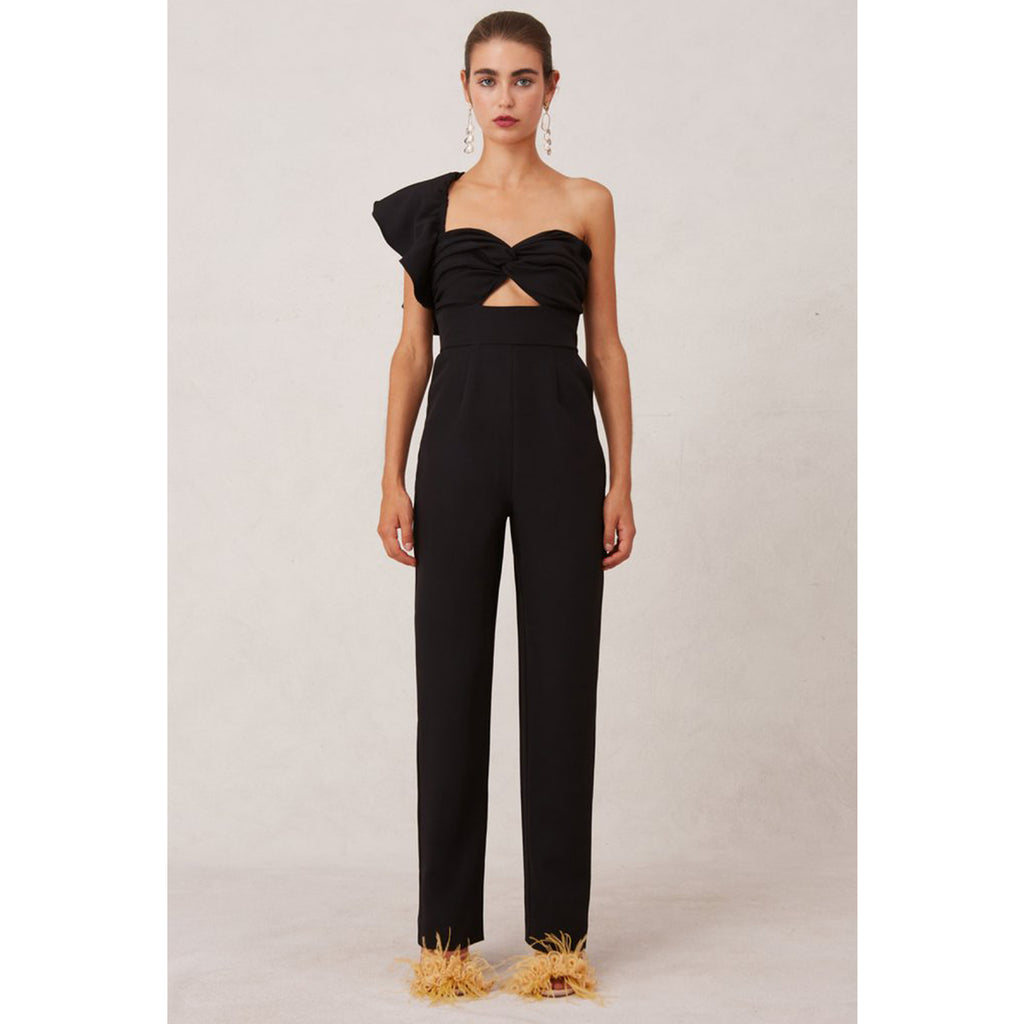 Keepsake Delight One Shoulder Jumpsuit