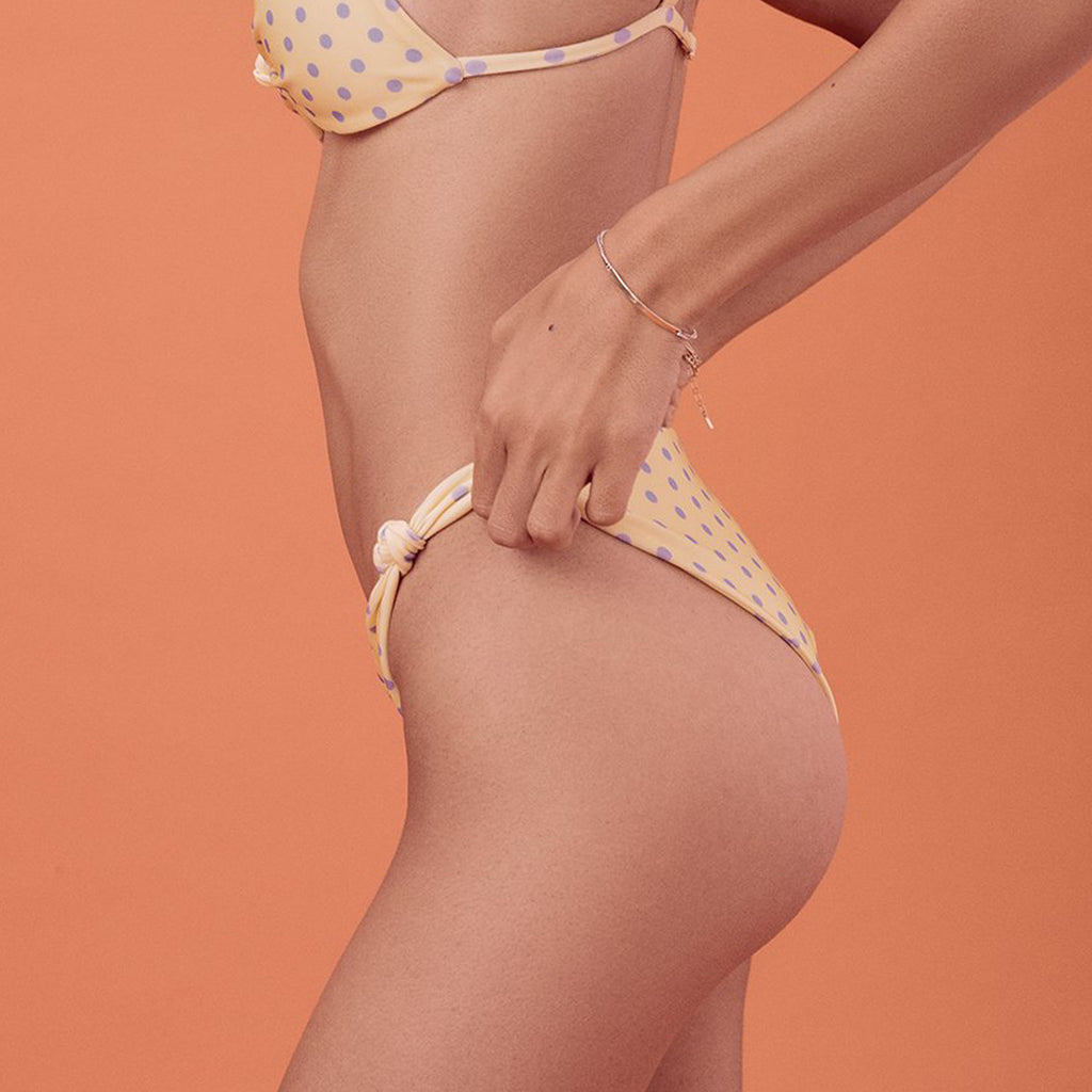 For Love & Lemons Limoncello Bikini Bottom
