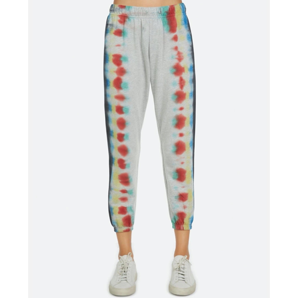 Michael Lauren Nate Crop Sweatpants in Tie dye
