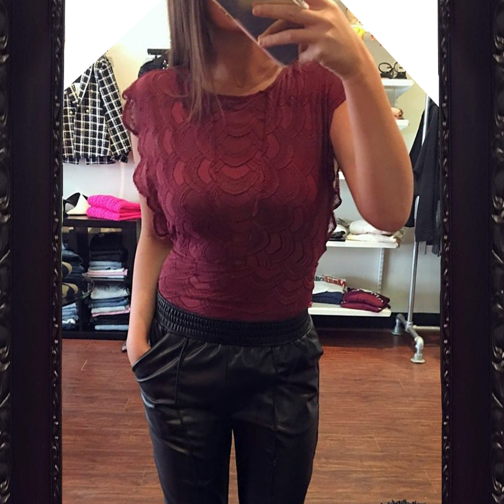 Nightcap Clothing Caletto Lace Top
