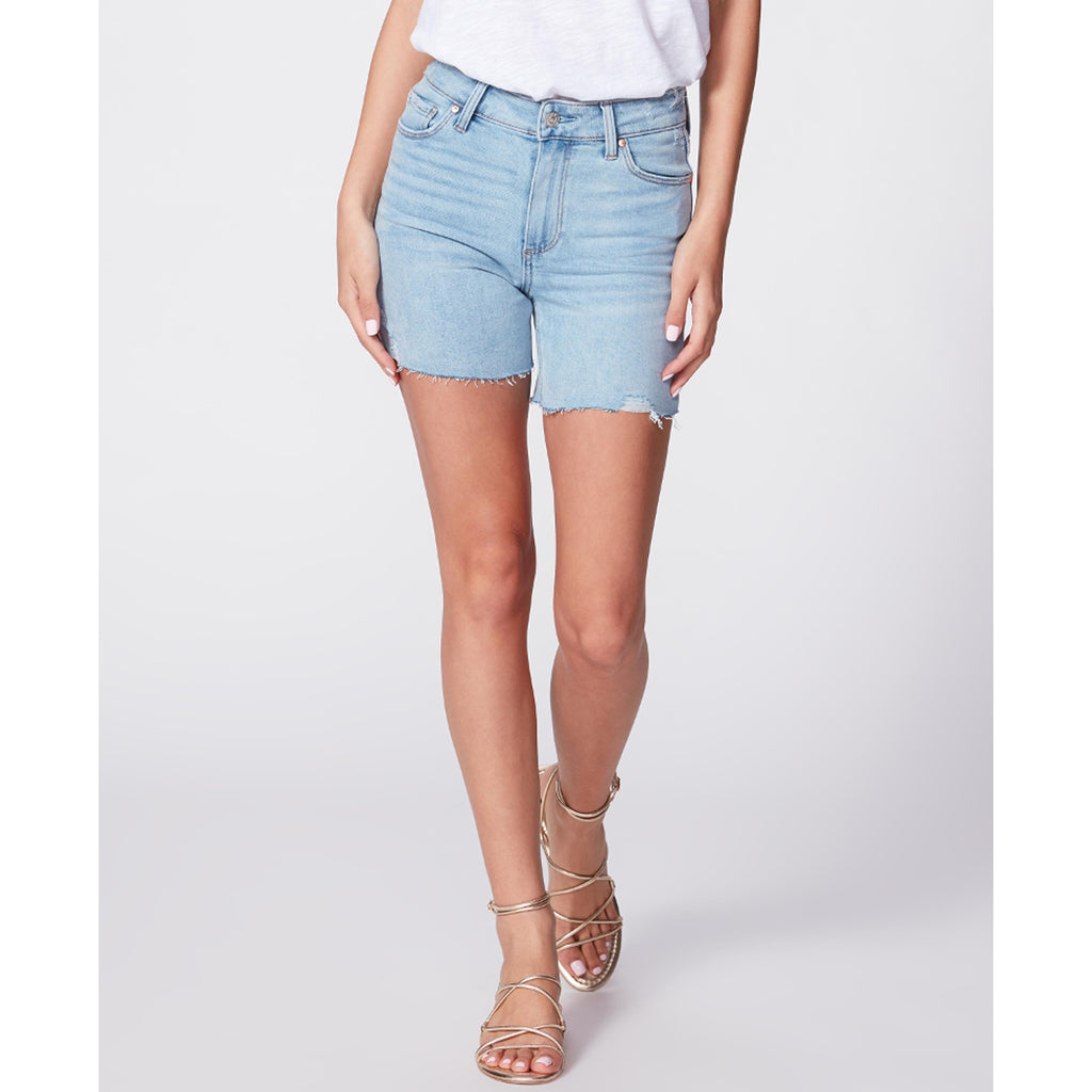 Paige Denim Sarah Longline Short in Coltraine