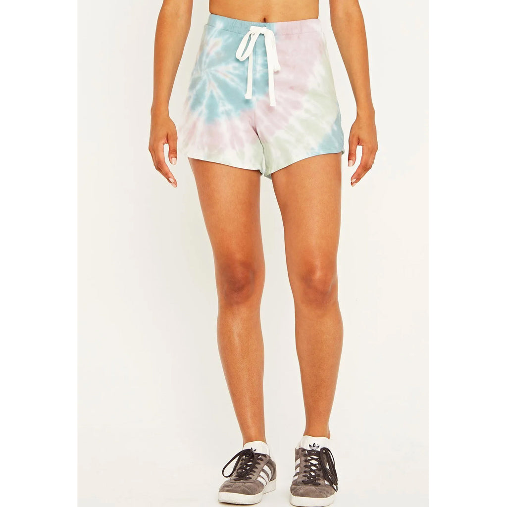 Project Social T Cosmos Tie Dye Short in Jade