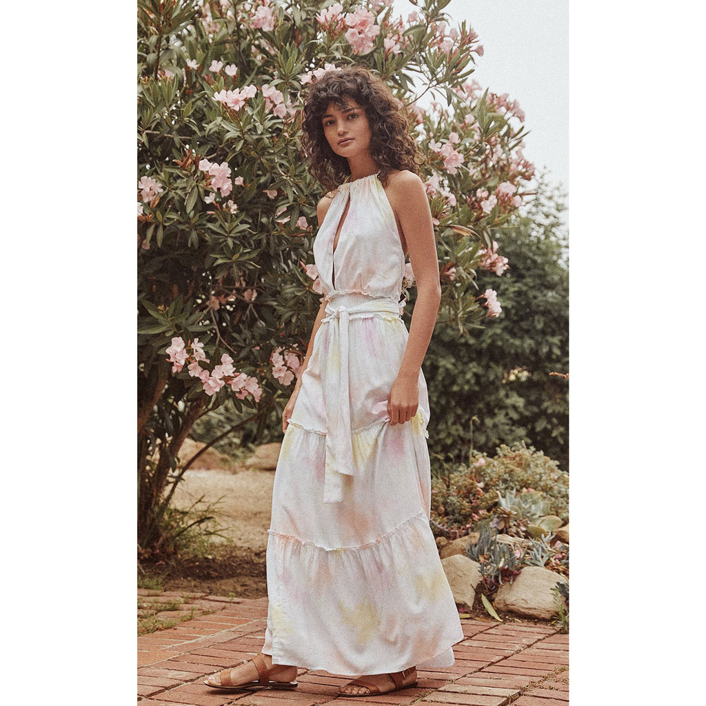 Saylor Emmeline Tie Dye Maxi Dress
