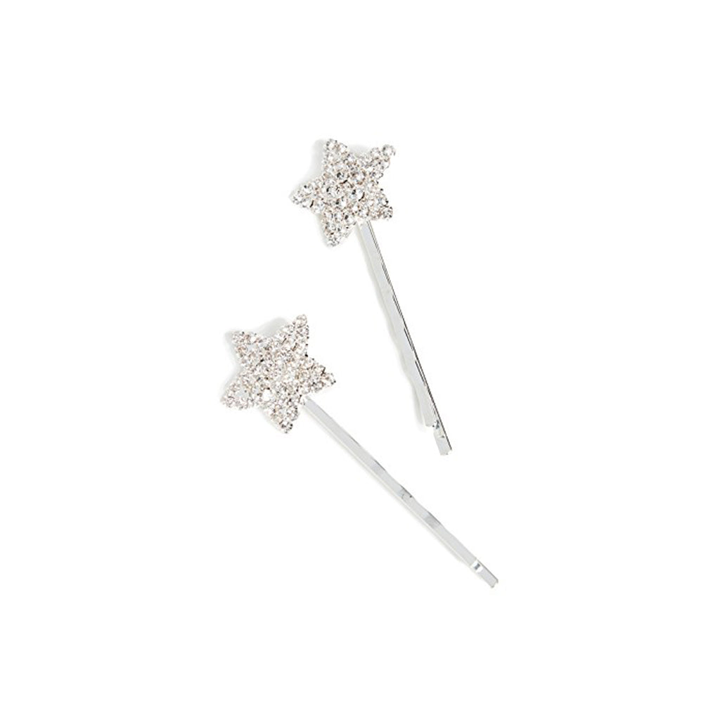 Shashi Jewelry Crystal Star Bobby Pins