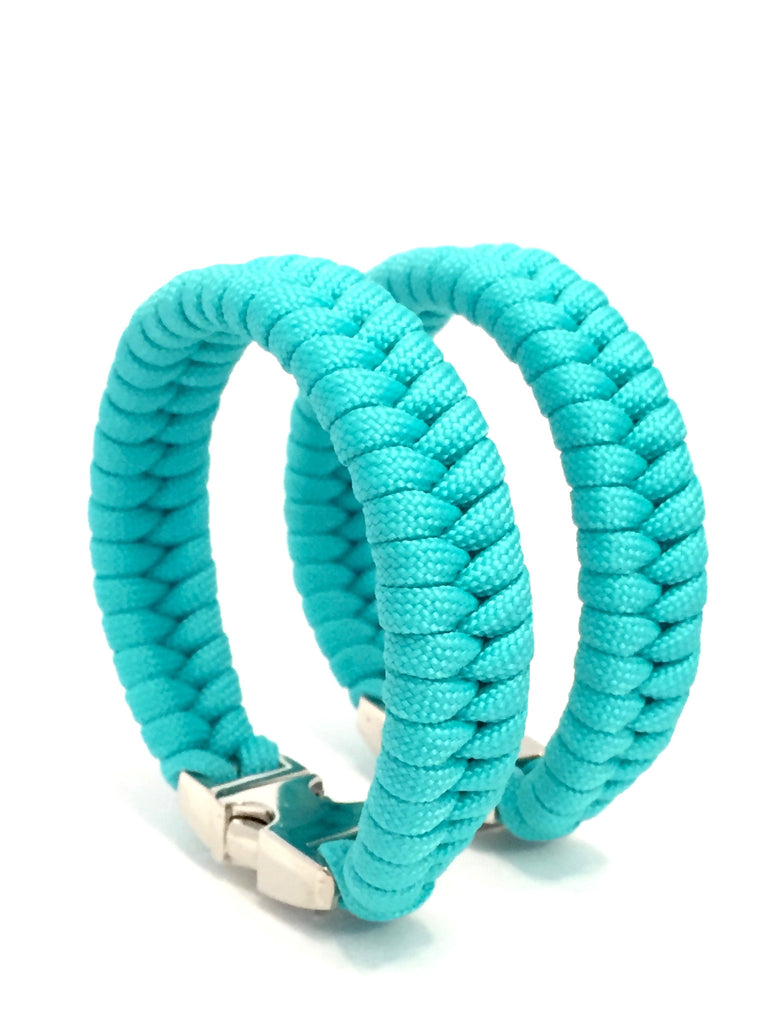 Tru550 Womens Jewelry Turquoise Paracord Survival Bracelet