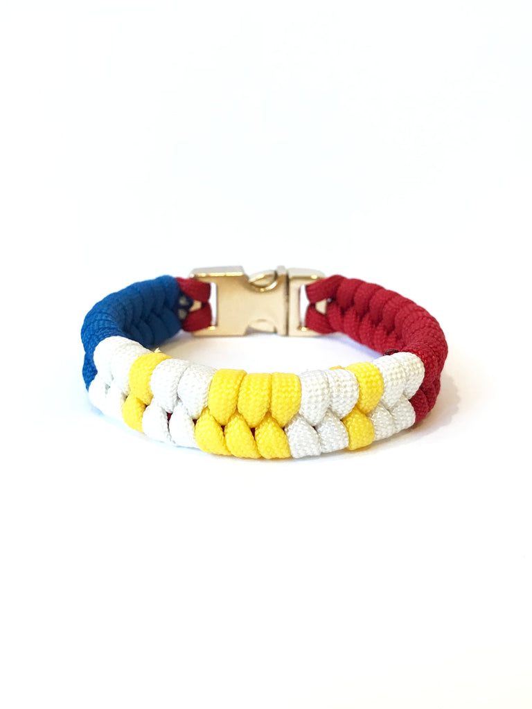 Limited edition Flag of the Philippines Mens & Women Paracord Bracelet Jewelry