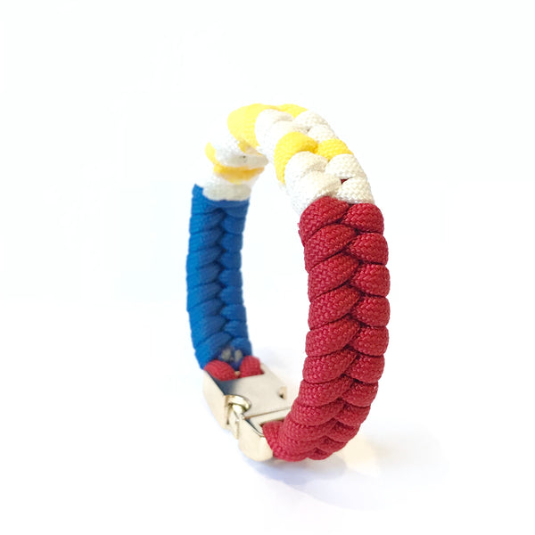 Limited edition Flag of the Philippines Mens & Women Paracord Survival Bracelet Jewelry
