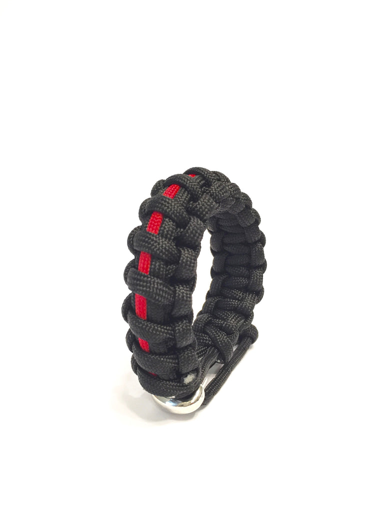 Tru550 FDNY Mens Jewelry Paracord Survival Jewelry Bracelet