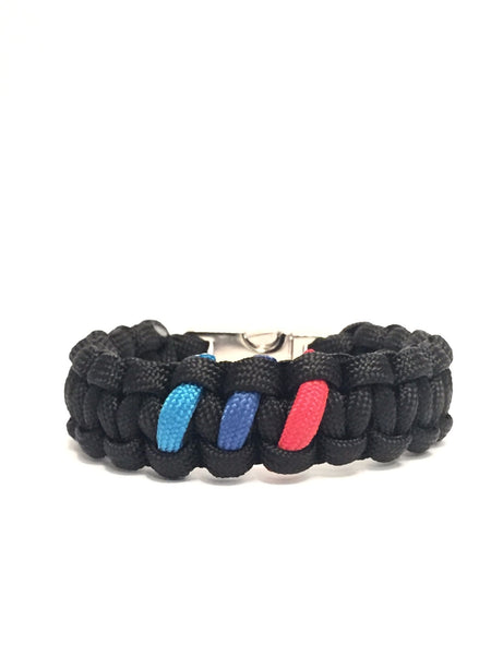 BMW M Series Mens Jewelry Limited Edition Paracord Bracelet