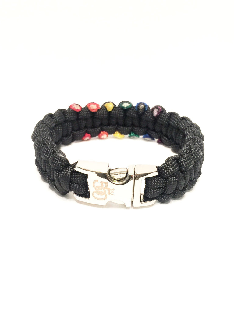 LGBT Gay Pride Rainbow Limited Edition Jewelry Paracord Bracelet