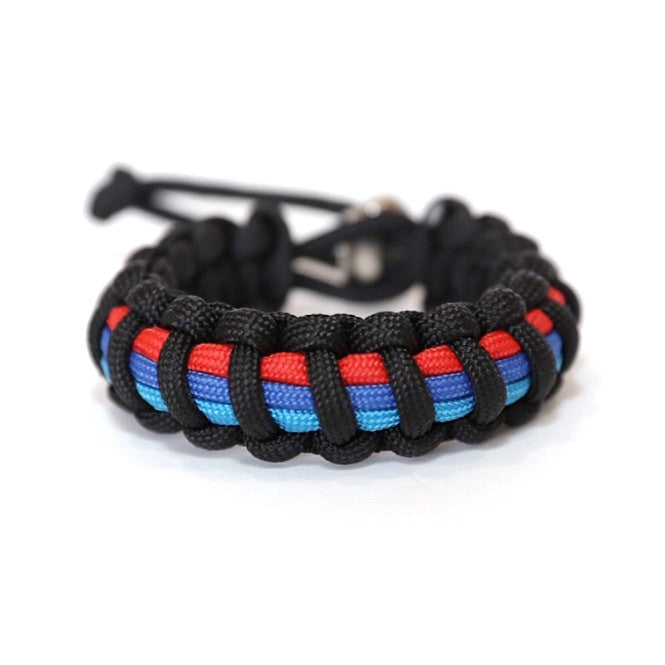 Tru550 Mens Jewelry BMW M Series Paracord Survival Bracelet