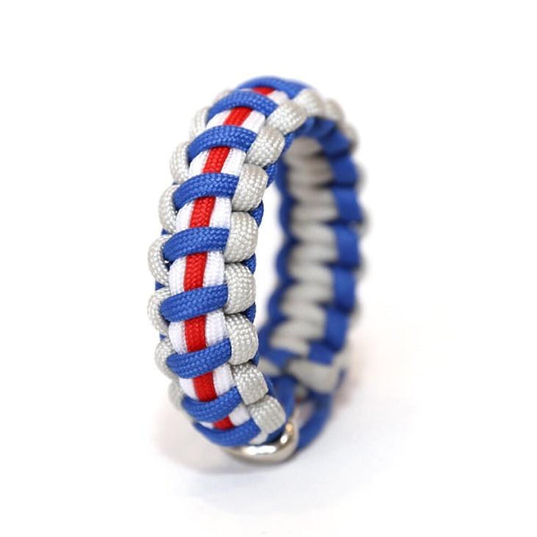 Mens Jewelry New York Football Gmen Paracord Survival Bracelet