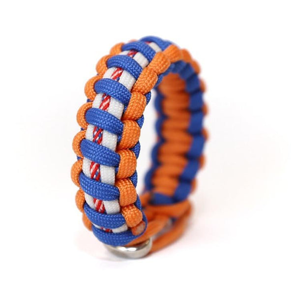 Mens Jewelry New York Amazing Baseball Paracord Survival Bracelet