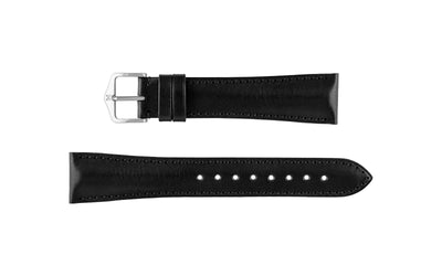 Siena by HIRSCH - Men's Black Artisan Leather Watch Strap