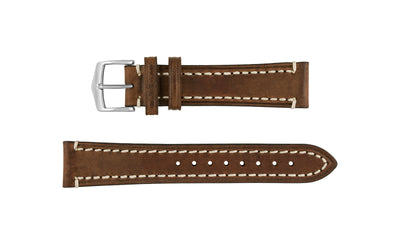 Liberty by HIRSCH - Men's Brown Saddle Leather Watch Strap
