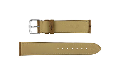 AWB Men's Brown Genuine Ostrich Watch Strap