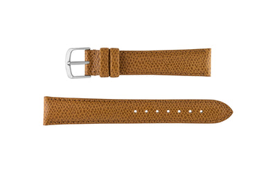 Hadley-Roma Men's Tan Hermes™ Grain Leather Watch band MS2045