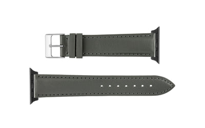 Apple Watch 38mm & 40mm Strap - Gray Genuine Leather APP829