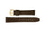 Hadley-Roma Men's MS831 Brown Genuine Calfskin Watch Strap