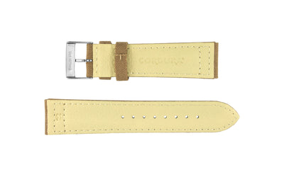 Hadley-Roma Men's Sand Genuine Cordura® Watch Strap MS850