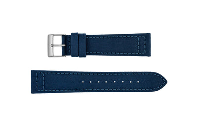 Hadley-Roma Men's Navy Genuine Cordura® Watch Strap MS850